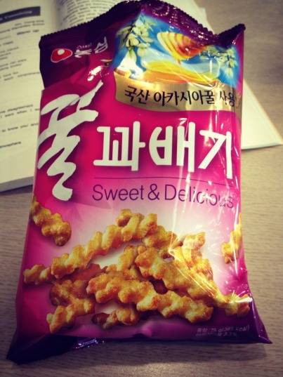 I found my new favorite Korean snack!