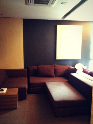 Royal deluxe suite on the top floor! — at Tria Hotel.