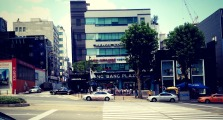 Apparently, our hotel is behind Bang Bang Plaza. — at Gangnam, Seoul