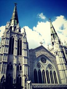 Presbyterian church down the street. How stunning! — at 충현교회