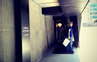 The entrance to the hotel was rather tricky and obscure. — at Tria Hotel.