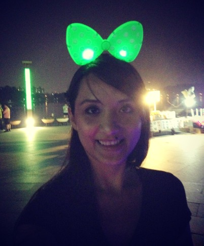 Ahhh. Lighted headband, where have you been all my life?