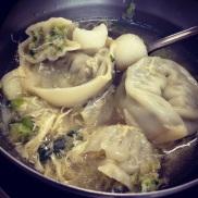 Mandu soup - Bunae school lunch