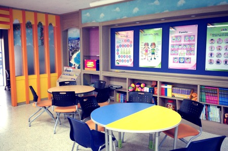 English classroom at Bunae
