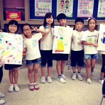 My 3rd graders at Bunae Elementary