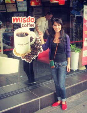Care for some... MisDo coffee? Hehe.