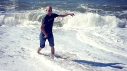 The waves were particularly powerful today!