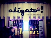 Aligato, arigato - you know, same thing.
