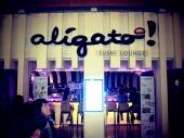 Aligato, arigato - you know, same thing.