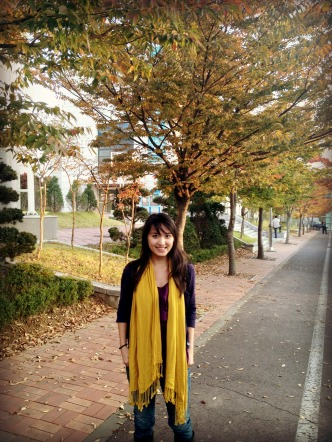Fall colors have arrived in Dangjin