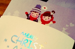 Christmas card from me to Clint.