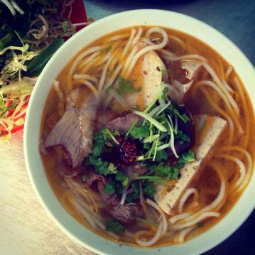 Bun bo Hue in Nha Trang