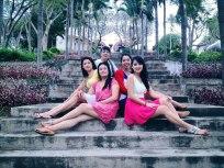 All my ladies at Bao Dai Villas in Nha Trang