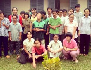 Special children's orphanage in Bao Loc