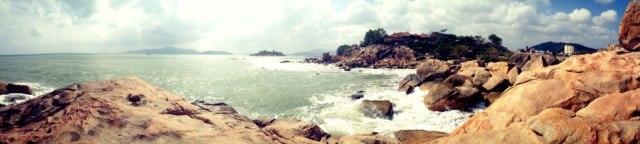 Hon Chong promontory in Nha Trang