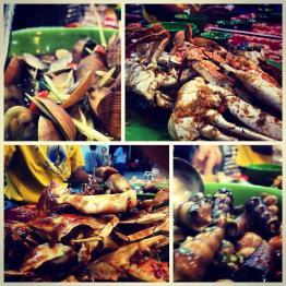 Seafood galore in Nha Trang