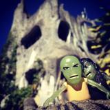 """Zombie Clint, it would appear we're home."" Biet Thu Hang Nga (Crazy House) - Da Lat, Vietnam"