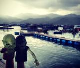 Zombies on vacation. Nha Trang, Vietnam