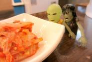 ZK: Zombie Clint, what is that? ZC: Stay back, Zombie Kim. It's the abominable kimchi! Seoul, South Korea.