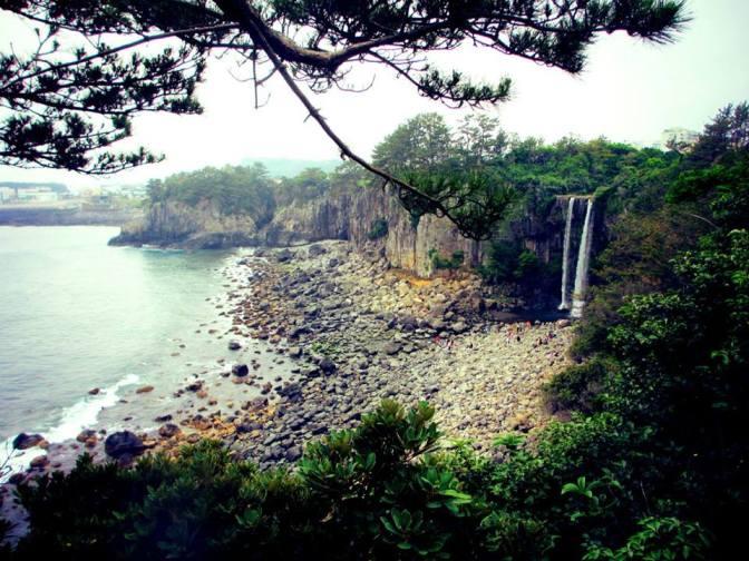 Jeongbang Falls
