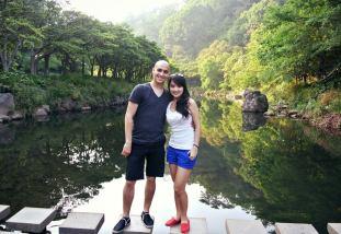 Cheonjiyeon Waterfall - river 2