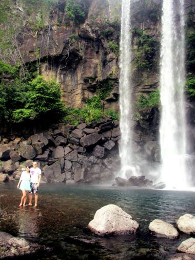 Jeongbang Falls - K&C