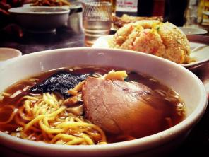Ramen and fried rice