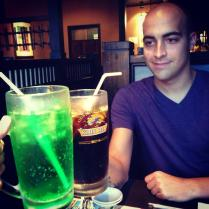 HUGE drinks - I can't get enough of melon soda