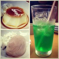 Desserts at Sushiro