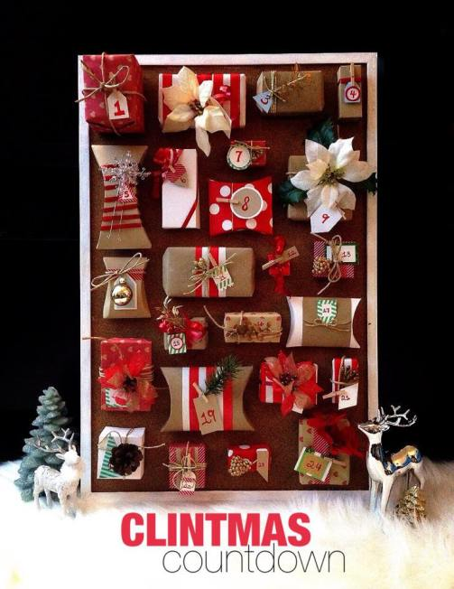 Clintmas Countdown Advent Calendar