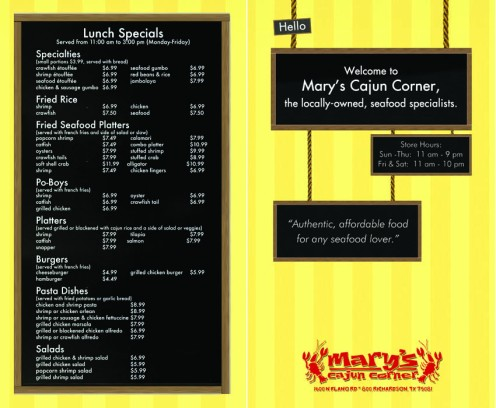 Menu Outside Redesign