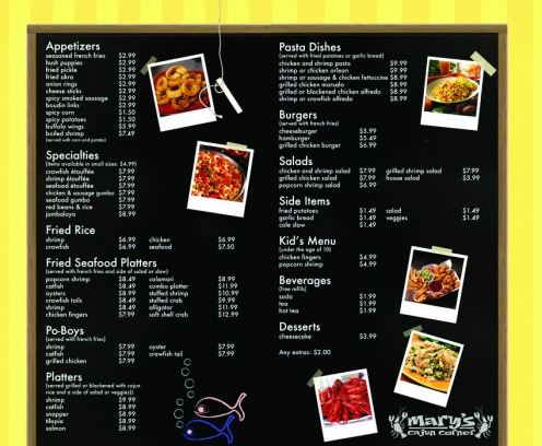 Menu Inside Redesign