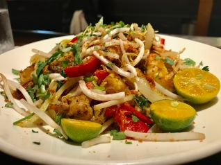 Singapore Noodles – Vermicelli, Chicken, Shrimp, Vegetables