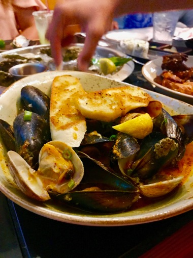 Red Curry Clams & Mussels