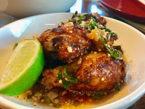 Thai Nuoc Cham Wings– Wings & Drums, Peanuts, Mint, Cilantro