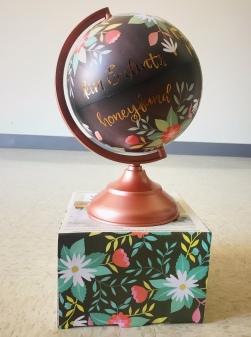 A honeyfund globe