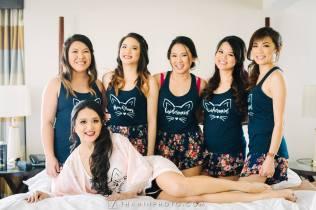 Custom bridal team shirts